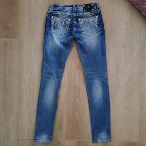 Miss Me Skinny Jeans 26